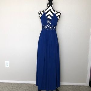 Dresses & Skirts - NWOT Backless Cut Out Maxi Dress